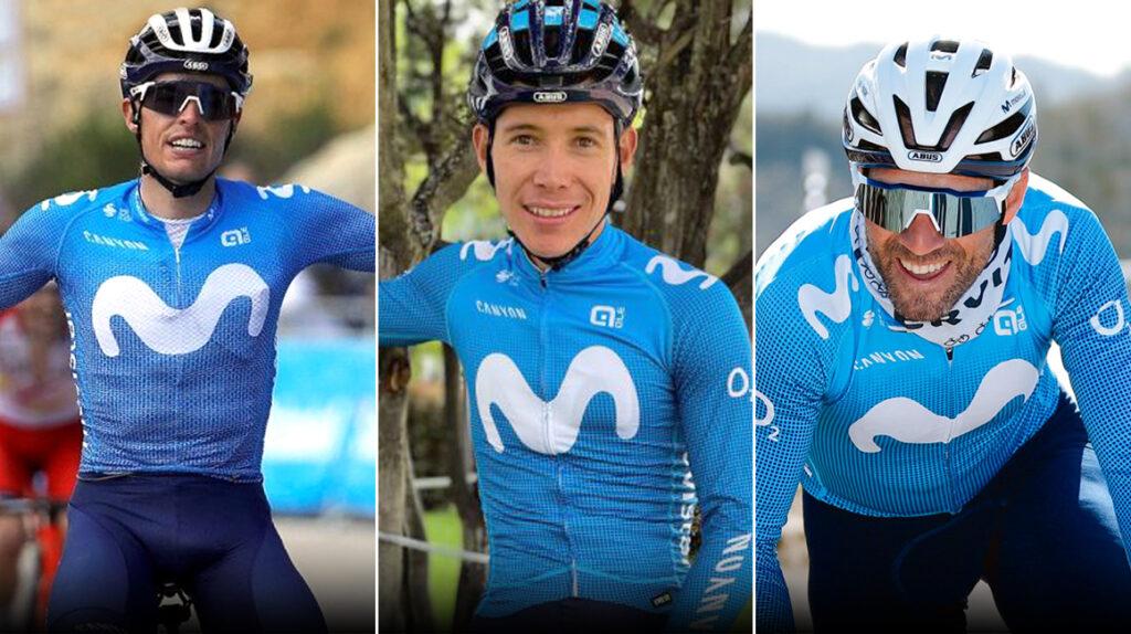 El Movistar apuesta por Mas, López y Valverde para el Tour de Francia