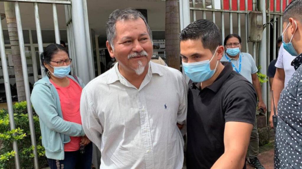 Indígenas amazónicos piden inmediata liberación de Antonio Vargas