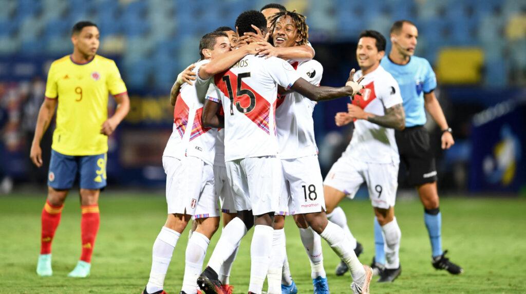 Perú vence con autoridad a Colombia y pisa fuerte en la Copa América