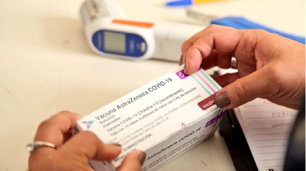 206.000 dosis de la vacuna AstraZeneca llegaron al país