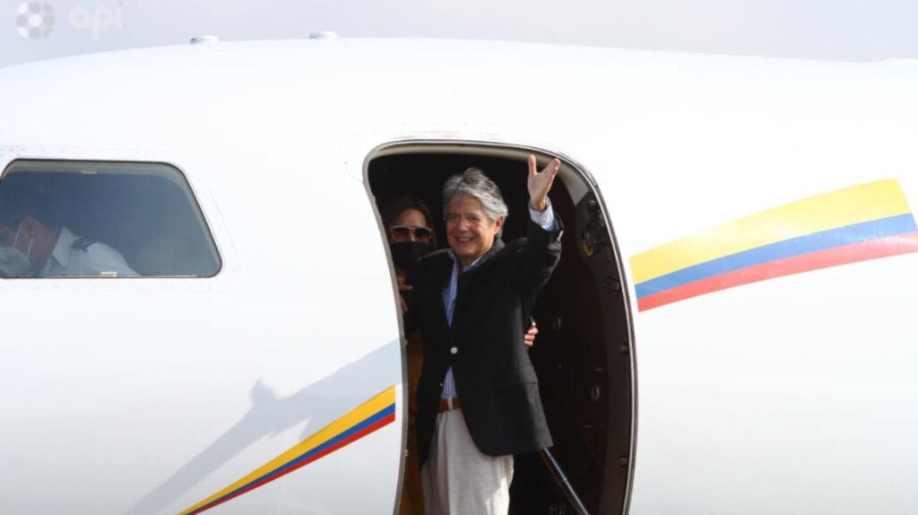 Presidente Lasso fue dado de alta y visitó a su nieto en Miami