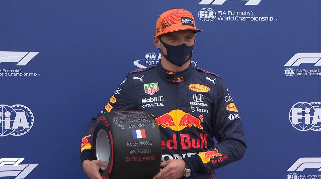 Verstappen alcanza la 'pole' y saldrá primero en el GP de Francia