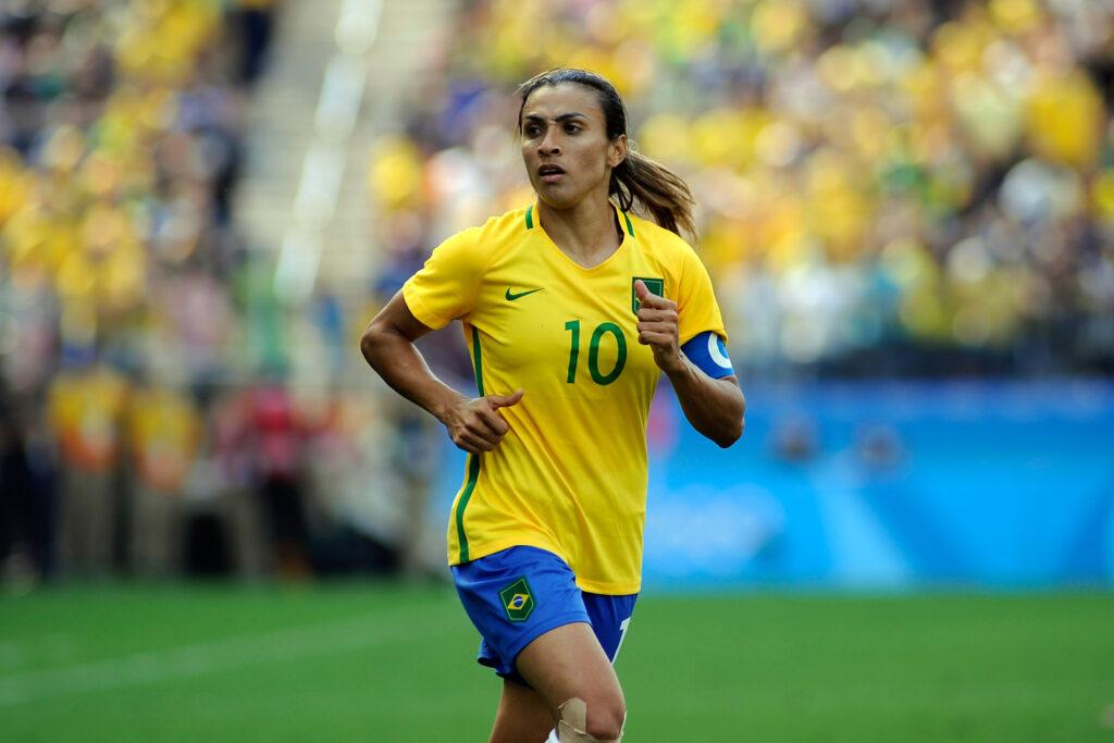 La brasileña Marta fue convocada por su selección para Tokio 2020