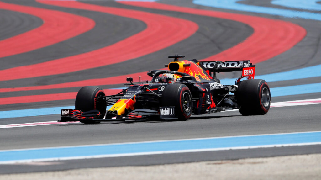 Max Verstappen destacó en las prácticas del Gran Premio de Francia