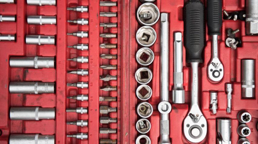 Es bonito tener todo ordenado en una caja, pero en los sets ya preparados hay herramientas que suelen usarse poco.