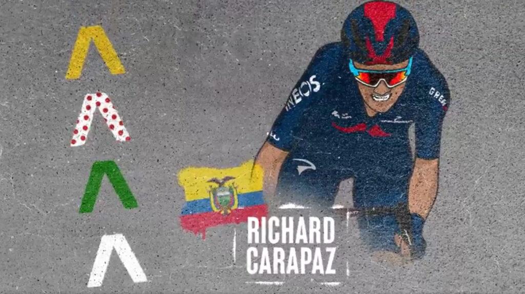 Ineos anuncia la alineación para el Tour de Francia con Carapaz y Thomas