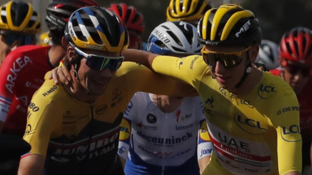 Roglic no cree que el Tour de Francia sea un duelo entre él y Pogacar