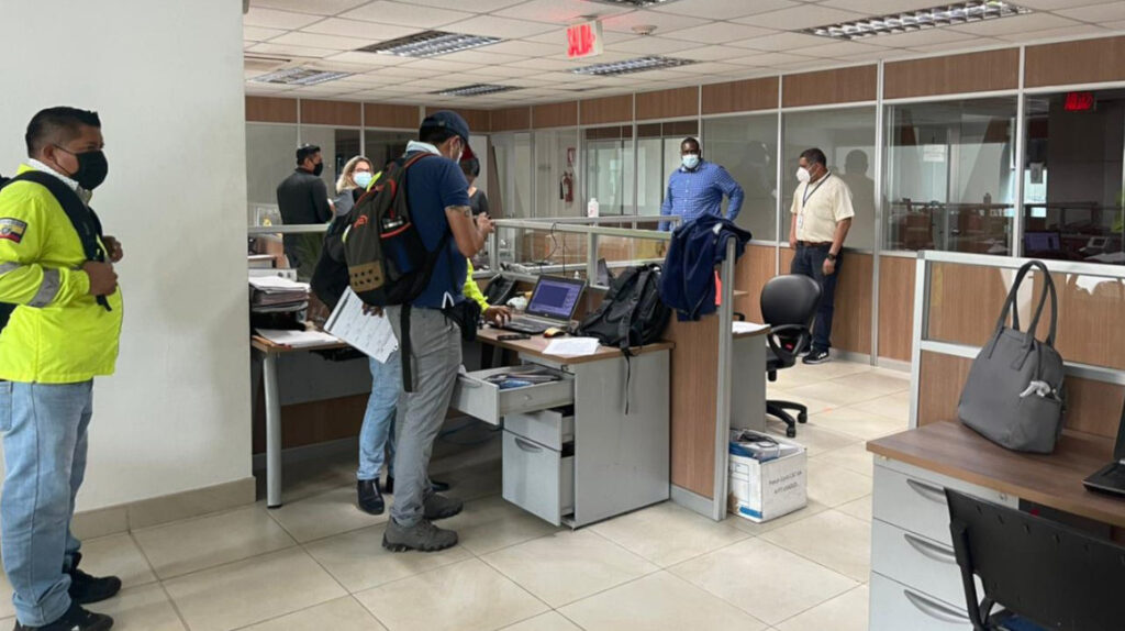Fiscalía allanó sala de sorteos del Consejo de la Judicatura del Guayas