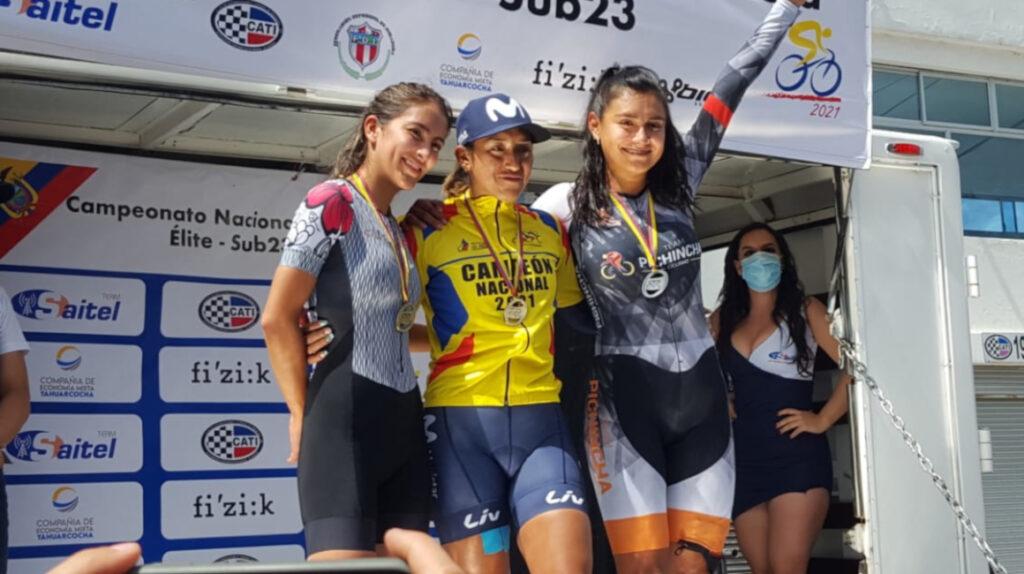 Miryam Núñez es la nueva campeona nacional de contrarreloj individual