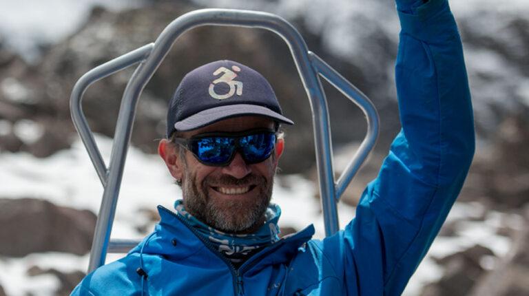 """Sebastián """"El Zuko"""" Carrasco: un montañista que se reinventa con cada cumbre"""