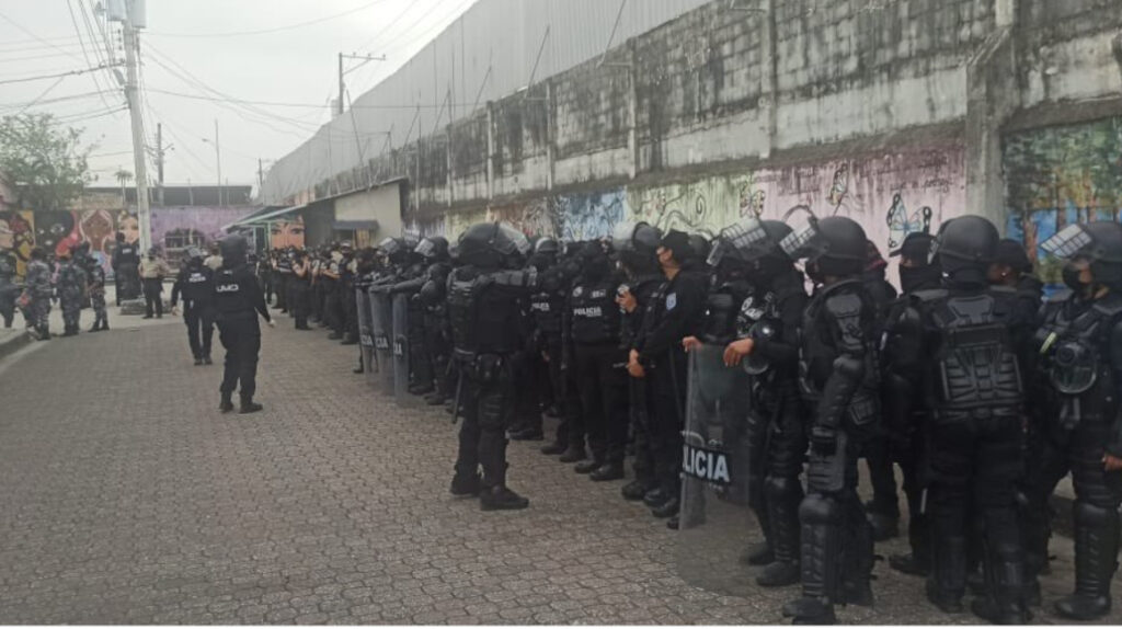 Policía halló taller de armas artesanales en la Penitenciaría del Litoral