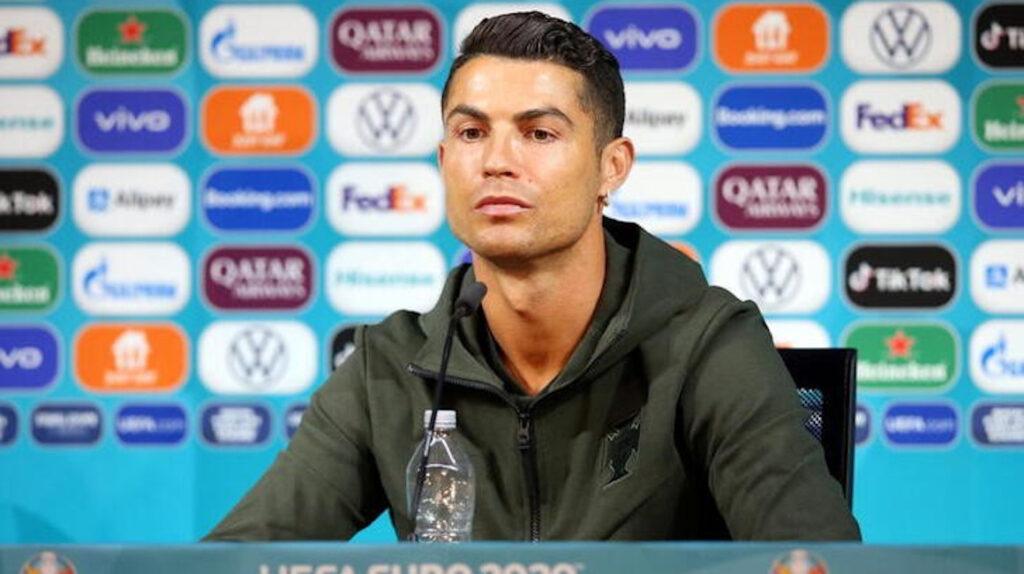 Ronaldo y Pogba desprecian a los patrocinadores de Eurocopa 2020