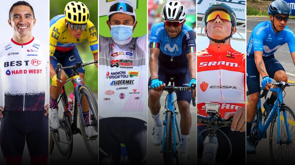 Los campeonatos nacionales de ciclismo se disputan en Yahuarcocha