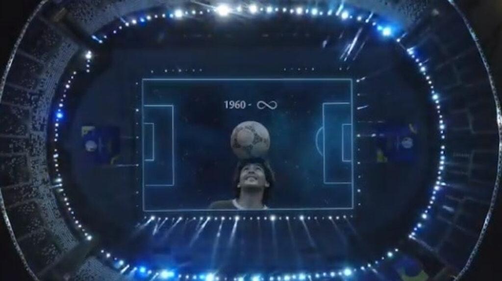 Pelé celebra el homenaje de Conmebol a Maradona en la Copa América