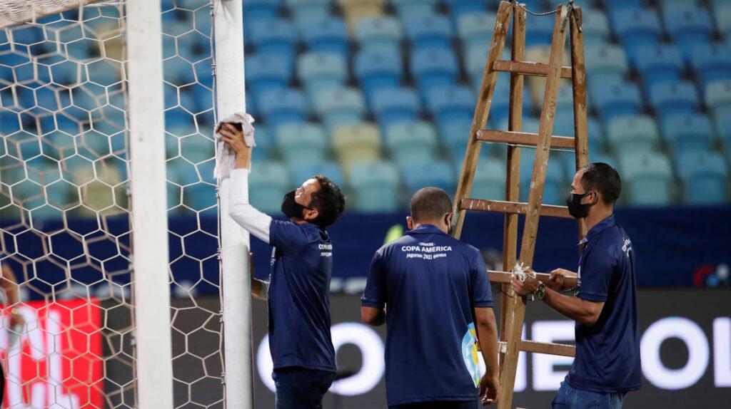 Detectan 41 casos de Covid-19 en la Copa América de Brasil