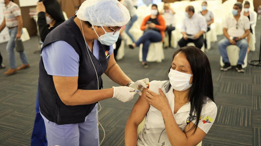 Así avanza el plan de vacunación para los deportistas clasificados a Tokio