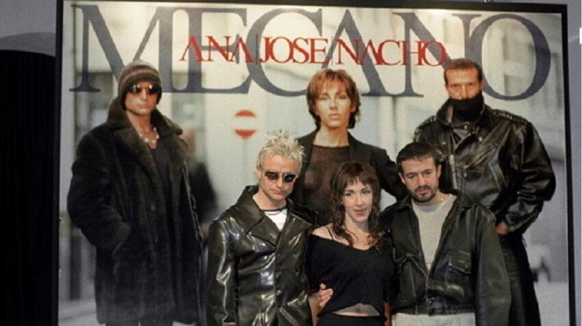 El grupo español Mecano, cuyo primer tema musical cumple 40 años este 14 de junio de 2021.