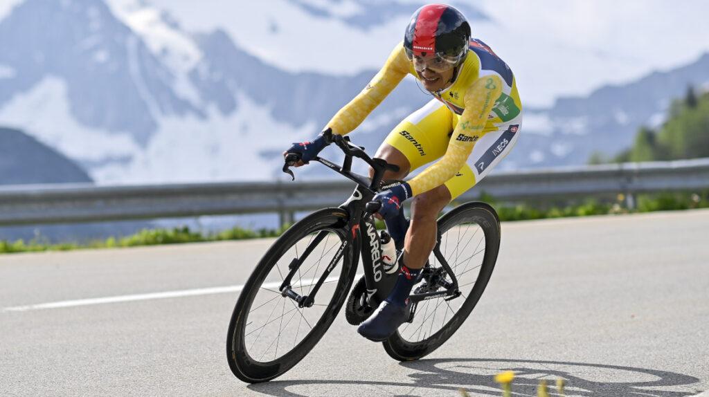 """Richard Carapaz: """"Vamos a buscar la clasificación general del Tour"""""""