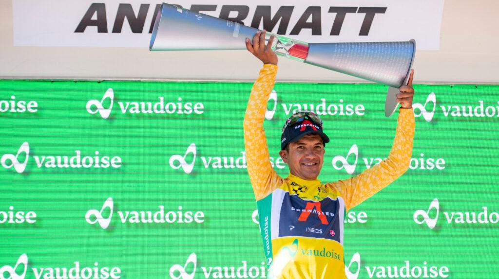 """Carapaz: """"Voy a compartir  liderazgo con Thomas en el Tour de Francia"""""""