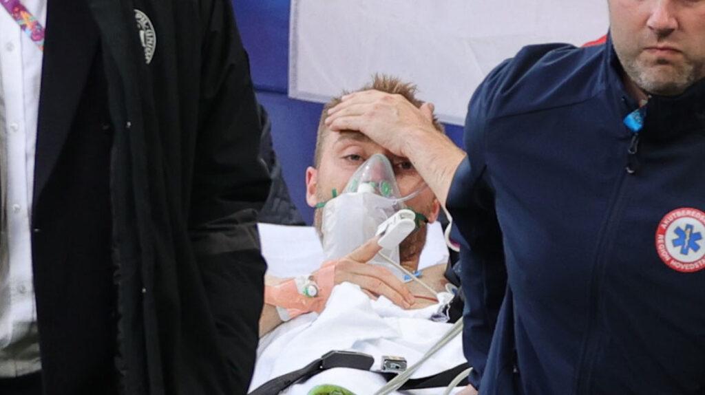 La UEFA informa que Christian Eriksen ha sido estabilizado