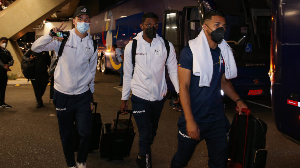 Cinco jugadores de Venezuela dan positivo para Covid-19 en Brasil
