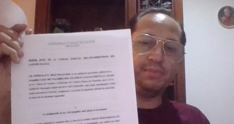 José Ibáñez fue el primero en denunciar los posibles delitos en las operaciones del Isspol con la casa de valores Valpacífico, en 2018.
