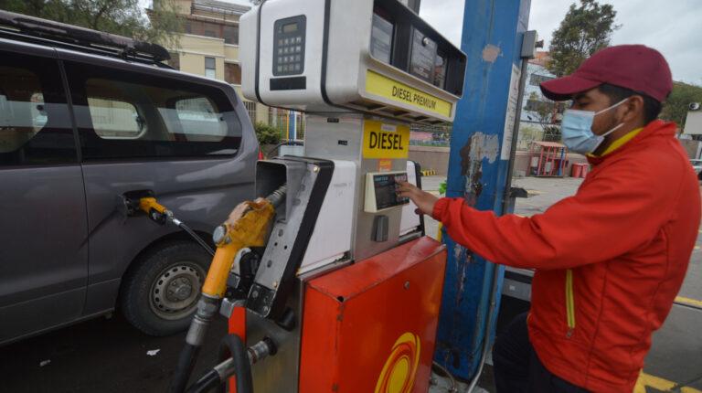 Congelar precios del diésel y la gasolina Extra tendrá bajo impacto fiscal
