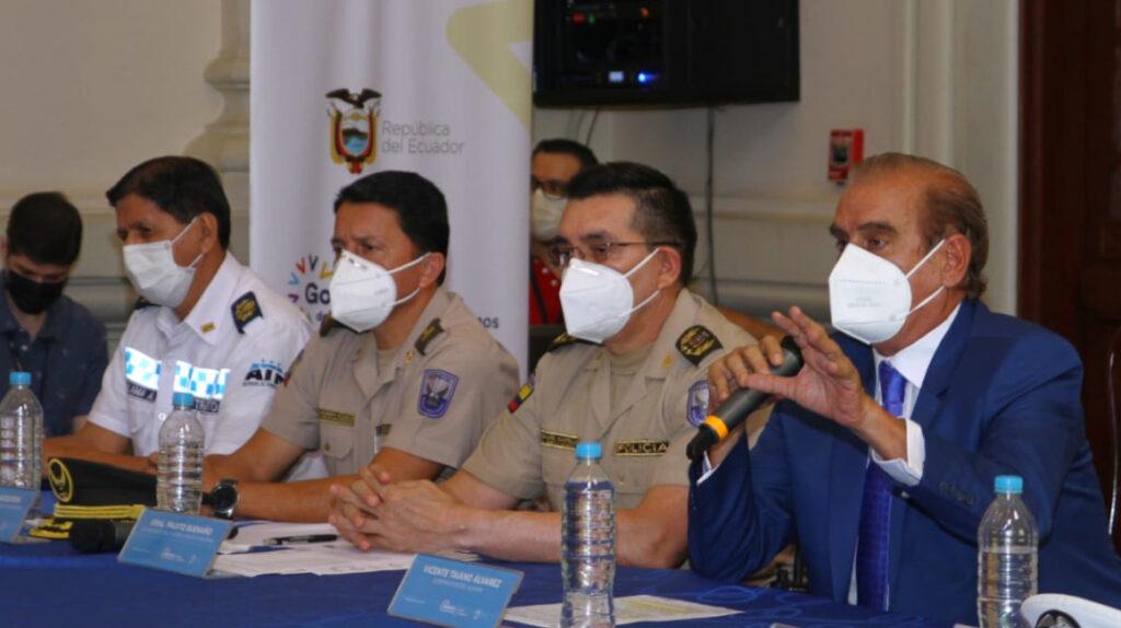 1.000 policías saldrán a las calles en Guayas para frenar la delincuencia