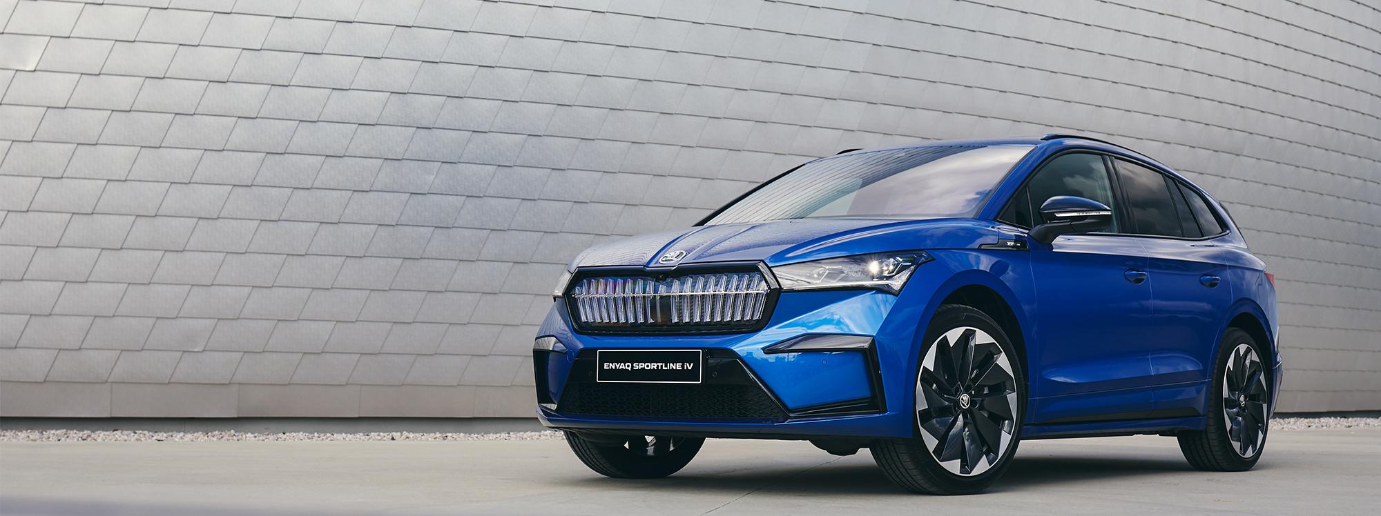 Así es la versión más deportiva del nuevo SUV eléctrico de Skoda