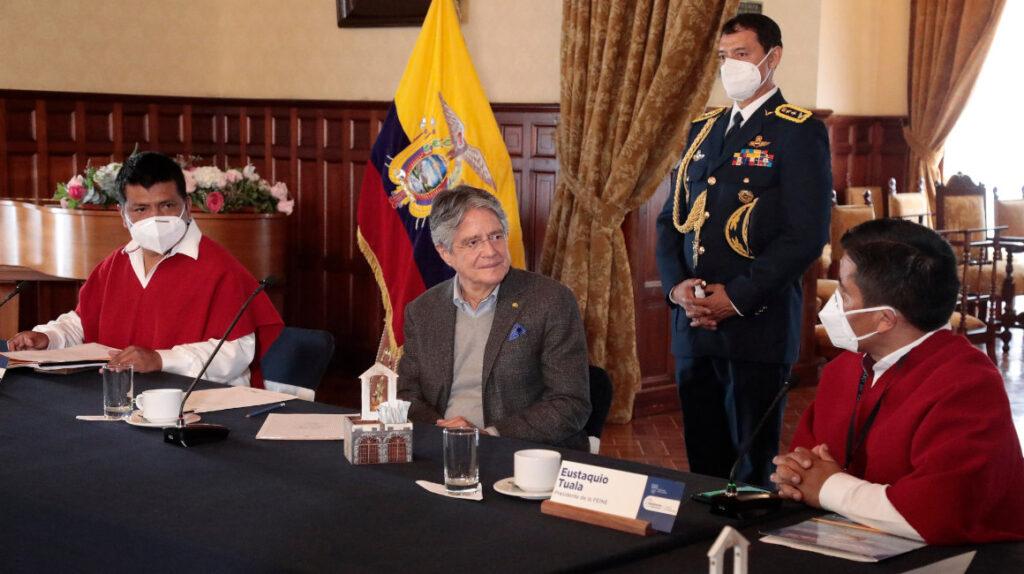 El Gobierno busca acercamientos con los dirigentes indígenas