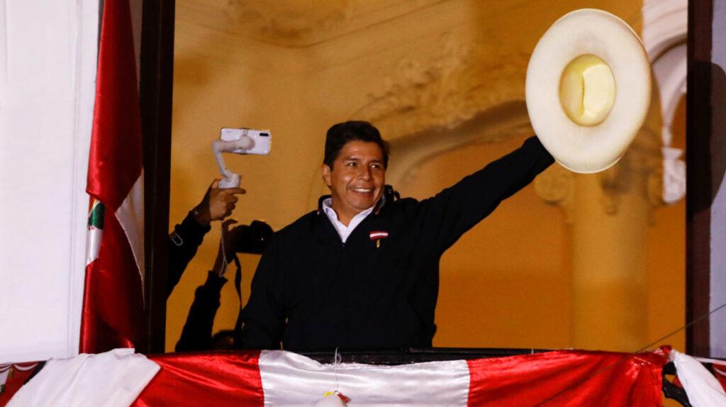 América saluda proclamación de Pedro Castillo como presidente de Perú