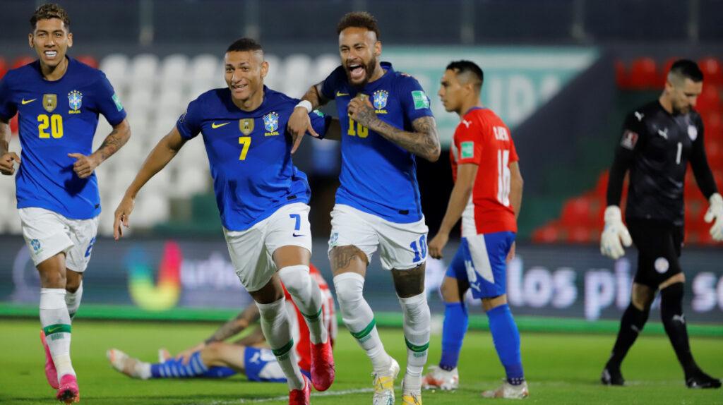 Brasil vuelve a ganar e iguala la mejor racha en Eliminatorias desde 1970