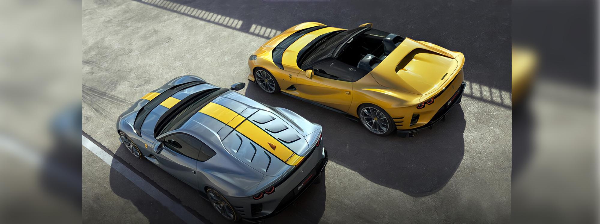 Estos son los nuevos y poderosos mellizos de Ferrari