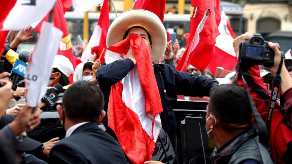 Pedro Castillo, el maestro de escuela que puede ser presidente de Perú