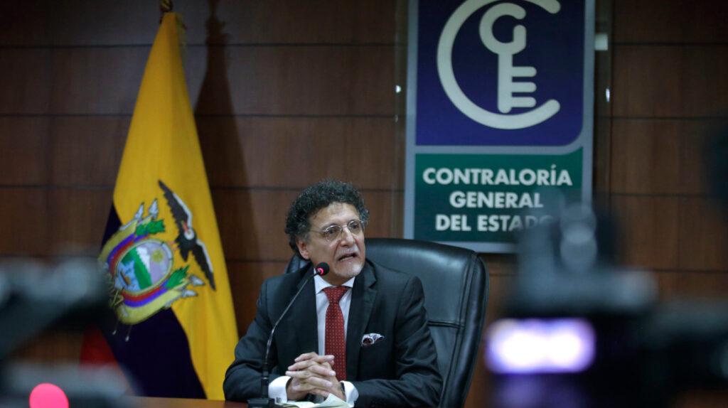 El contralor Pablo Celi está cercado en lo judicial y en lo político
