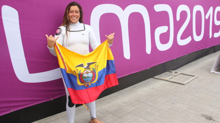 Dominic Barona logró la medalla de plata en los Juegos Panamericanos de Lima 2019.