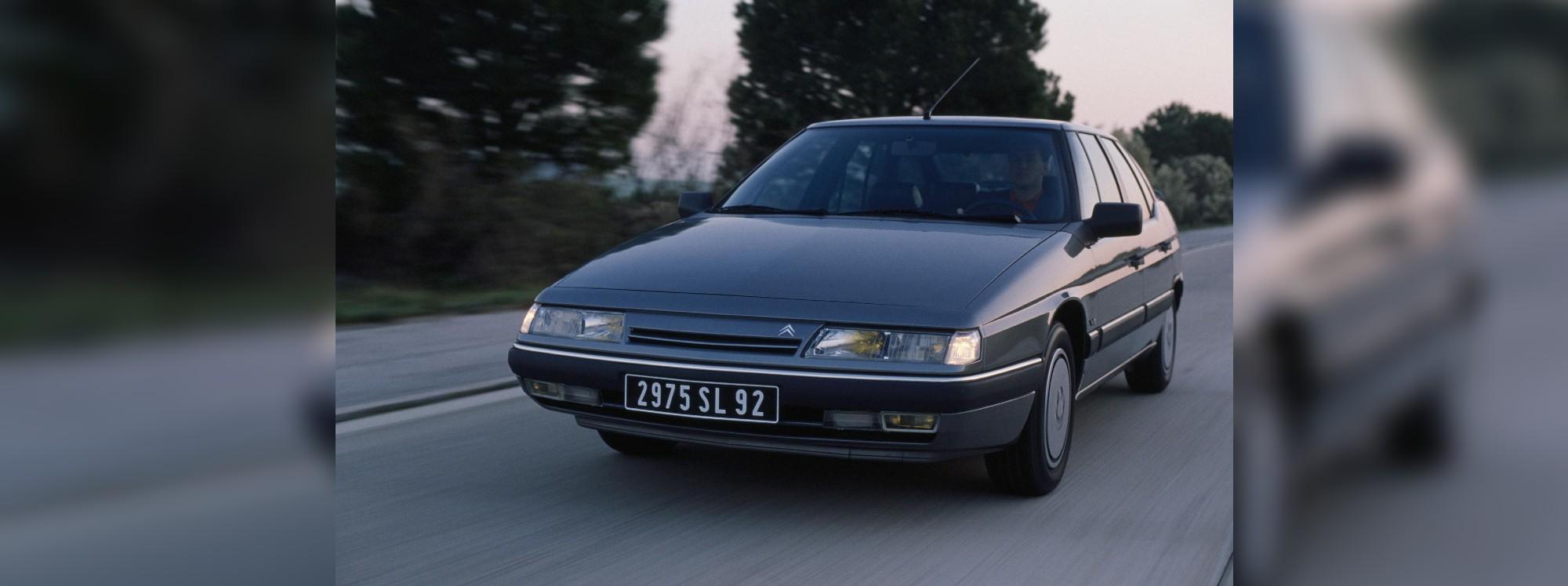 Citroën XM, la génesis de los fastbacks de los años 90