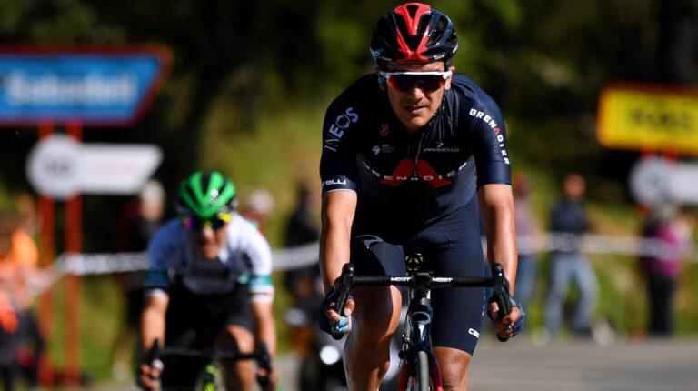 Richard Carapaz será el líder del Ineos Grenadiers en el Tour de Suiza, que se corre del 6 al 13 de junio de 2021.