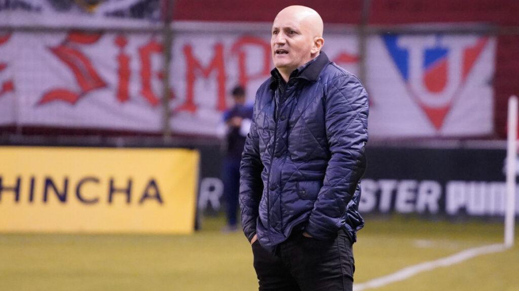 El entrenador uruguayo Pablo Repetto deja Liga de Quito