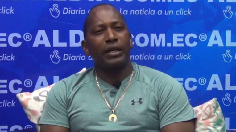 Miguel Ángel Nazareno Castillo, cabo de infantería del Ejército, involucrado en un presunto delito de captación de dinero. Quevedo, junio 2021