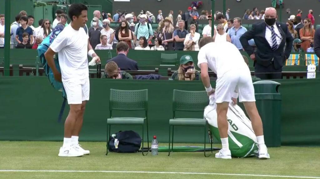 Gonzalo Escobar y Ariel Behar avanzan a la segunda ronda de Wimbledon