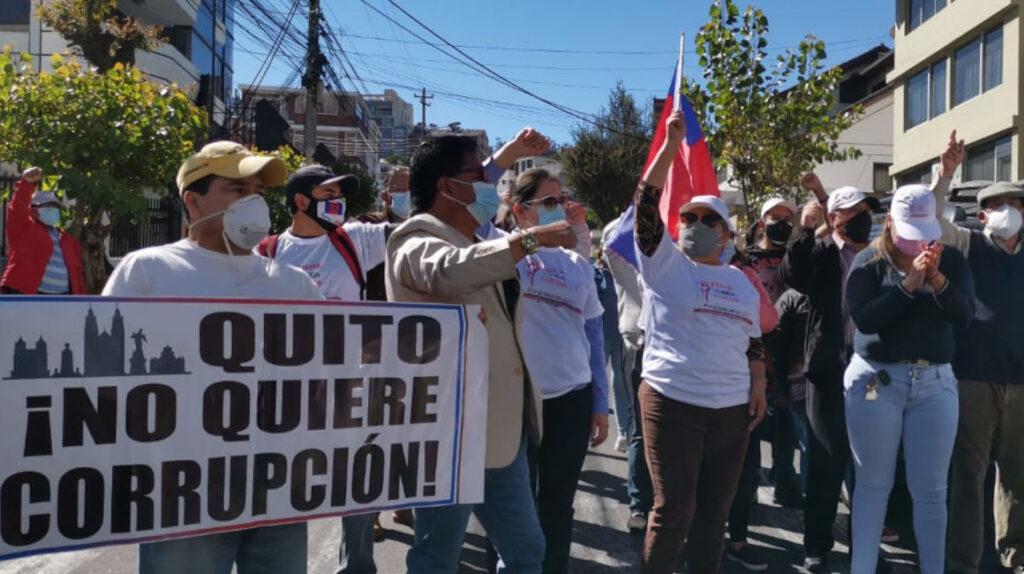 El TCE ratifica la remoción del alcalde de Quito, Jorge Yunda