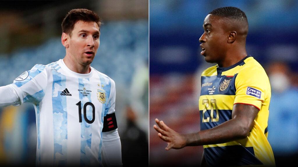 Seis datos y curiosidades del Ecuador vs. Argentina por Copa América
