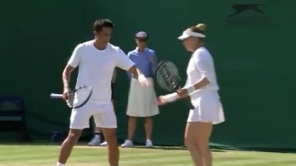 Escobar y Zvonareva pasan a la segunda ronda en Wimbledon