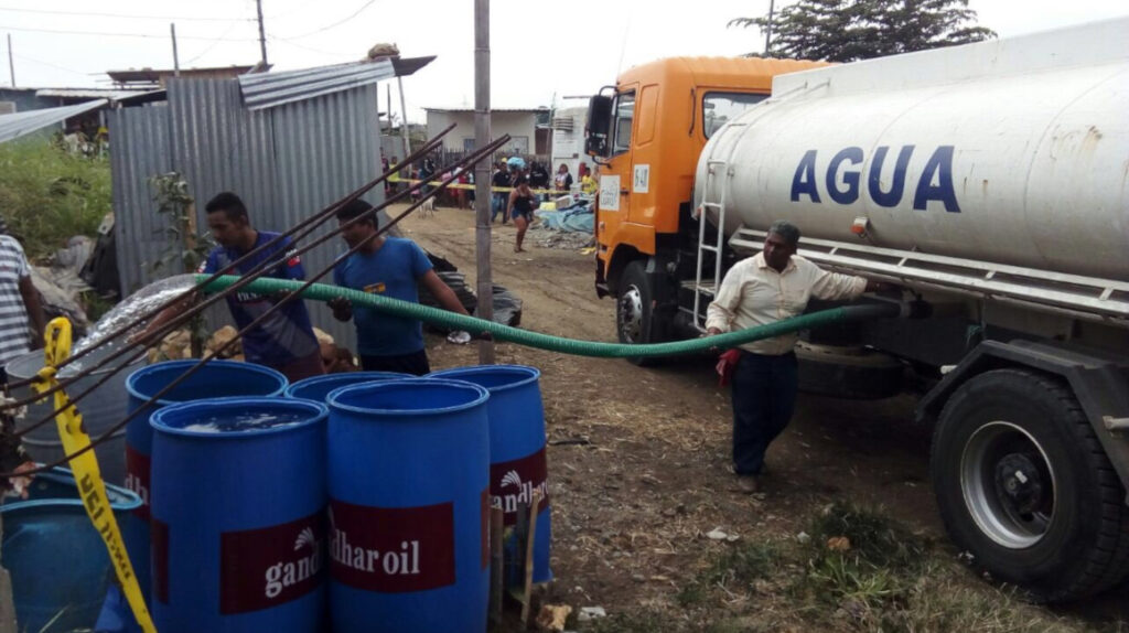 Nueve provincias de Ecuador con bajo acceso a agua potable