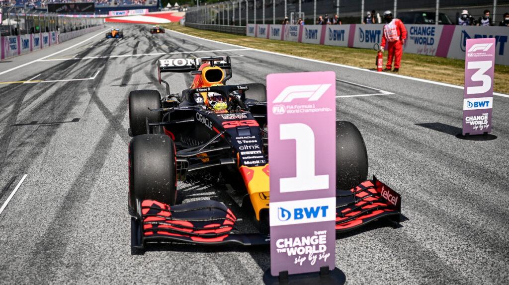 Max Verstappen saldrá primero en el Gran Premio de Austria