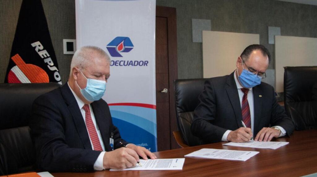 Petroecuador firma acuerdo con Repsol para reducir costos operacionales