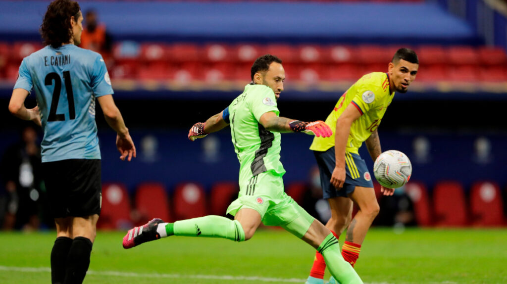 Colombia vence en penales a Uruguay y es semifinalista de la Copa