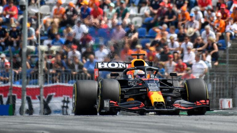 Max Verstappen, durante el Gran Premio de Austria, el 4 de julio de 2021.