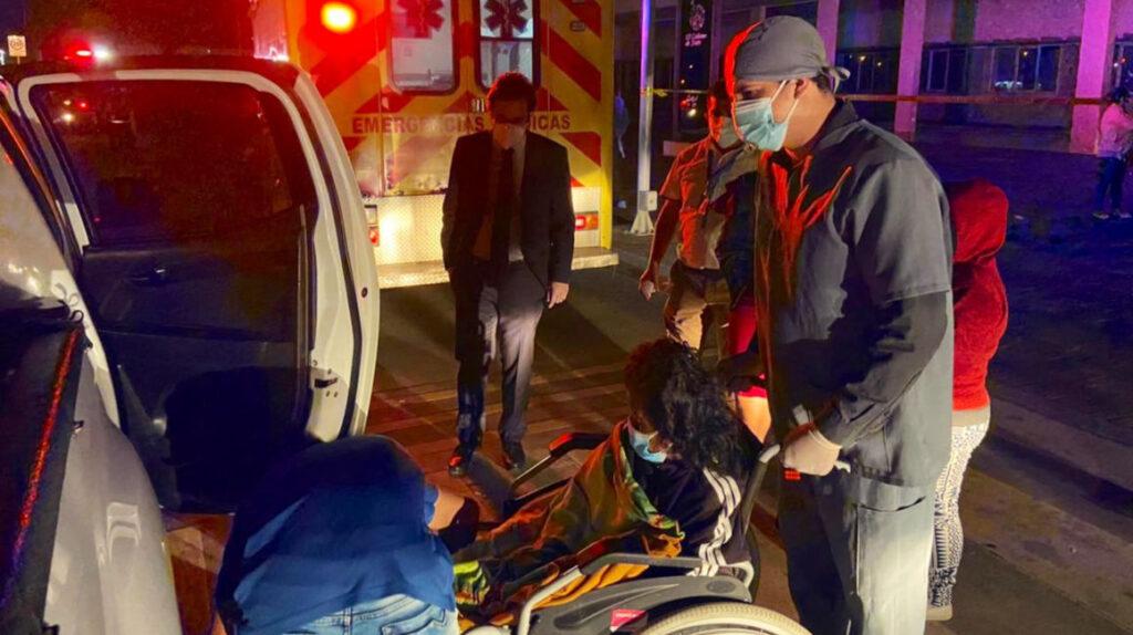 Reubican a 90 pacientes por incendio en hospital de Portoviejo